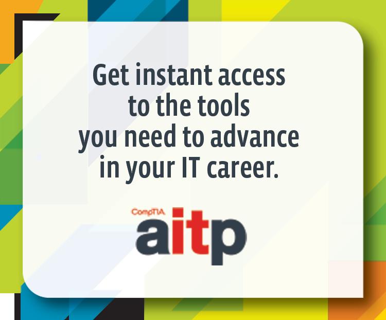 $10 Off CompTIA AITP Membership
