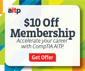 Save on CompTIA AITP membership