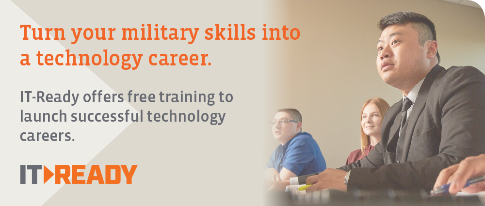 Turn Your Military skills into a technology career