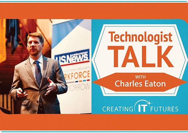 Charles Eaton talking