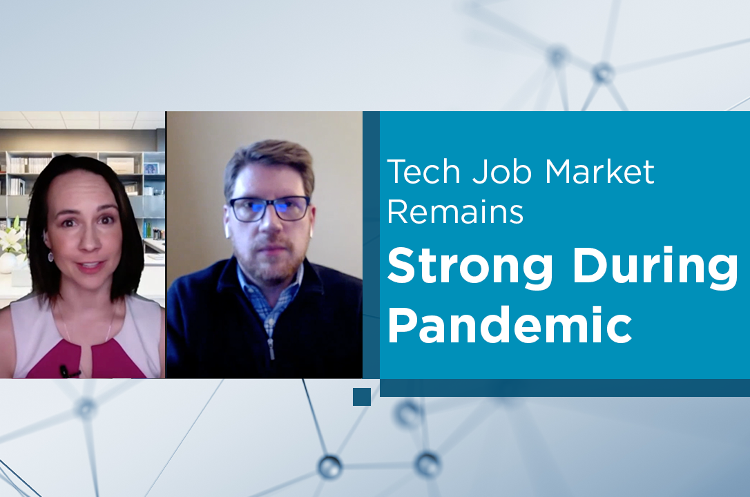 Tech Job Market Remains Strong During Pandemic blog