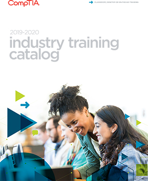 2019 Industry Training Catalog Cover