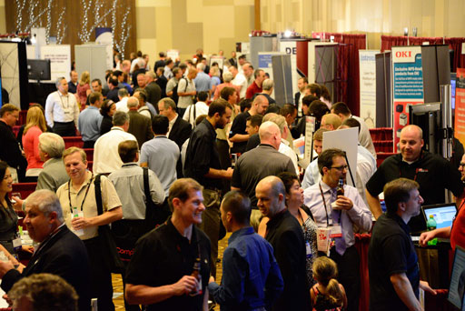 Busy Trade Show