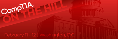 CompTIA on the Hill email banner - Capitol