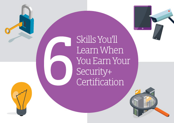 6 Skills You'll Learn When You Earn CompTIA Security+