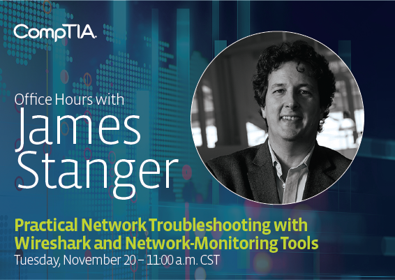 Office Hours with James Webinar: Network Monitoring