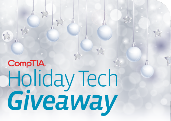 CompTIA Holiday Tech Giveaway