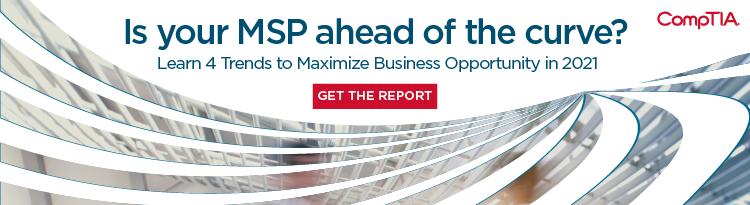 MSP 2021 Trends Report