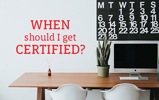 When should I get an IT certification