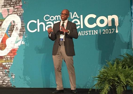 DuWayne Harrison speaks at ChannelCon 2017