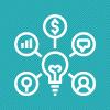 Business Analytics Illustration.