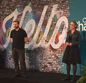Jefferson Burson and Erika Powell-Burson speak at ChannelCon 2017