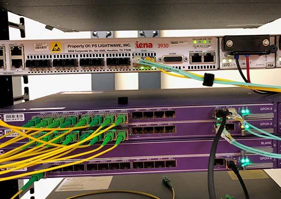 Link Calix for the Mont Belvieu network