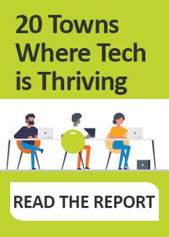 Tech Towns Blog Ad