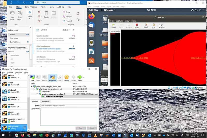 Virtualized Windows Desktop screenshot 800