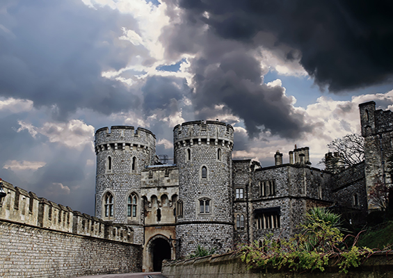 A picture of a castle