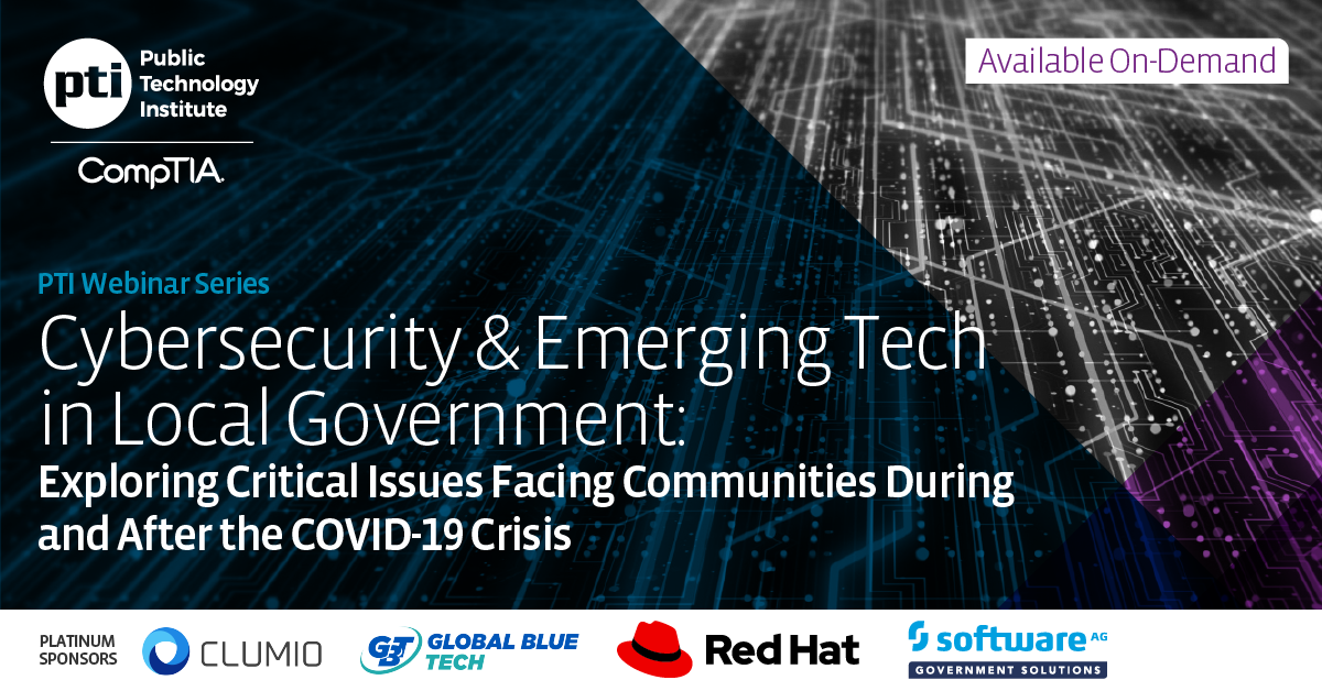 Cybersecurity & Emerging Tech in Local Government