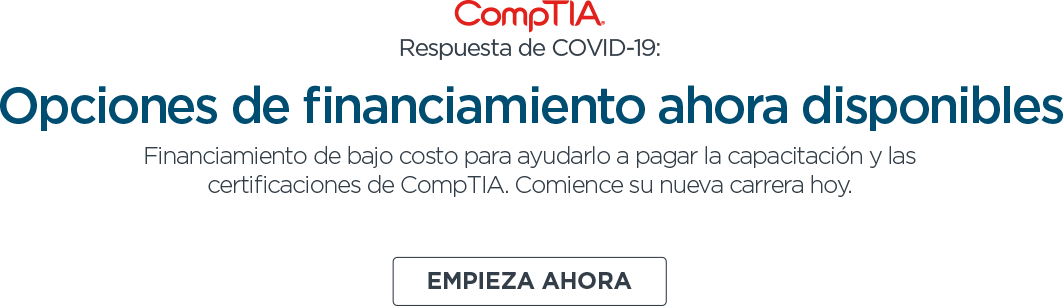 Finance with CompTIA