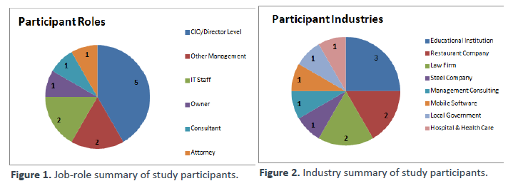 Participant Roles and Industries