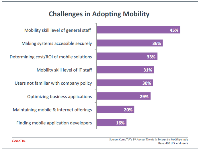 Challenges in Adopting Mobility