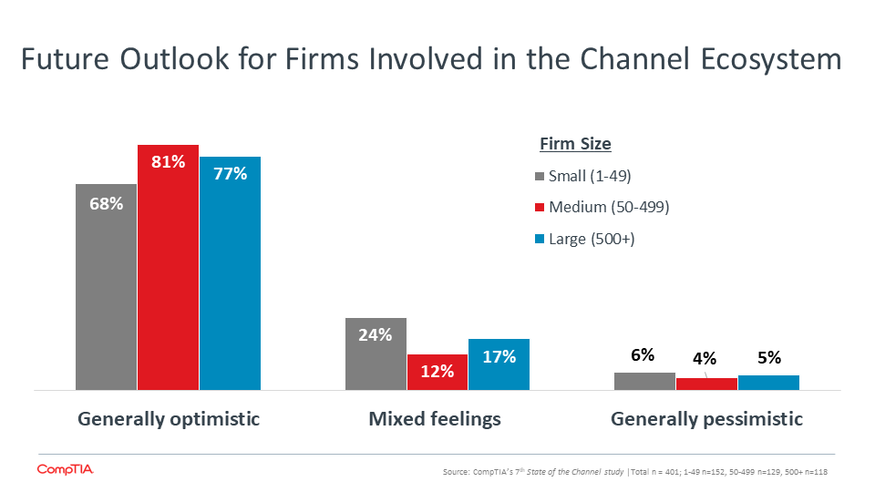 Future Outlook for Firms Involved in the Channel Ecosystem