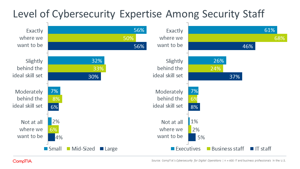 Level of Cybersecurity Expertise Among Security Staff