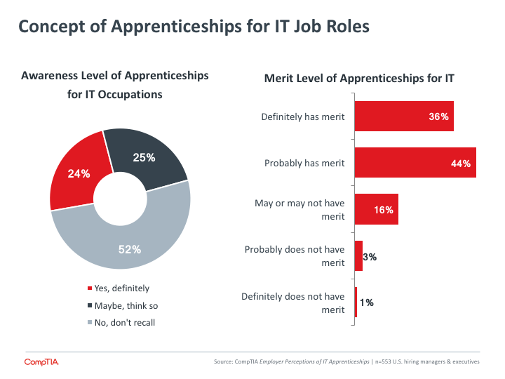 Concept of Apprenticeships for IT Job Roles