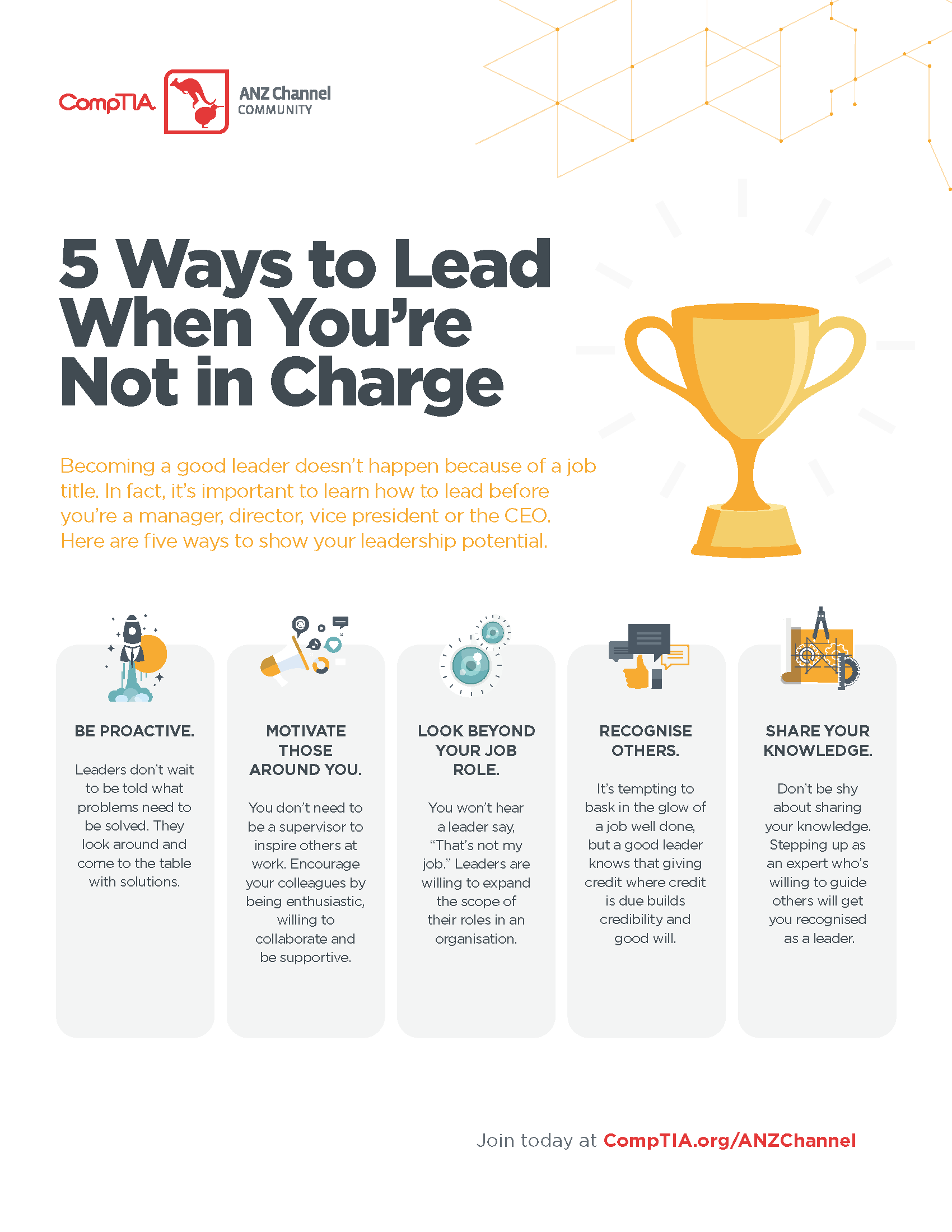 5 Ways to Lead When Youre Not In Charge