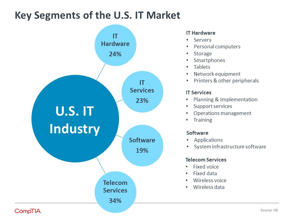 Key Segments of the U.S. IT Market