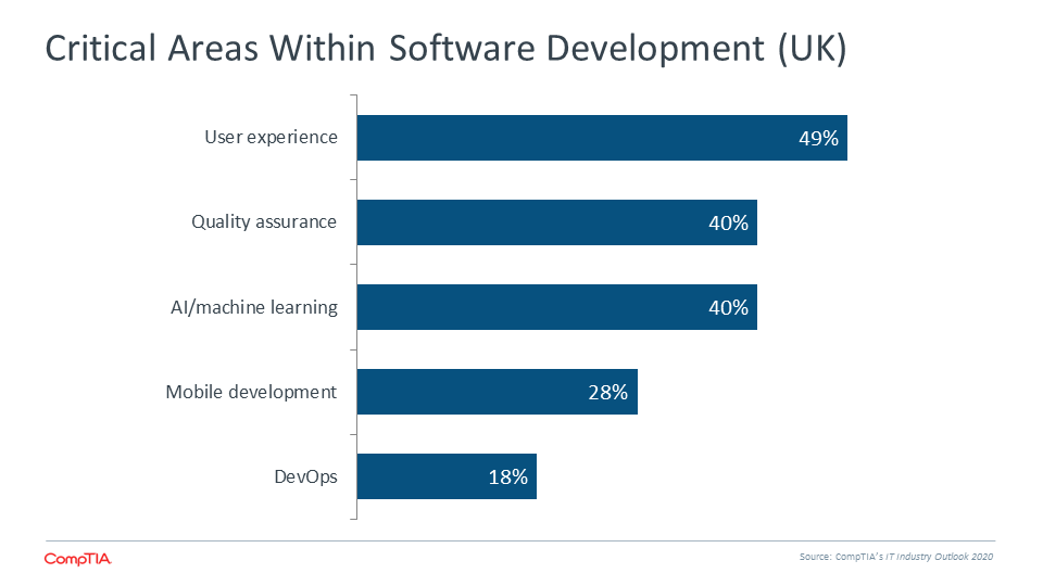 Critical Areas Within Software Development (UK)