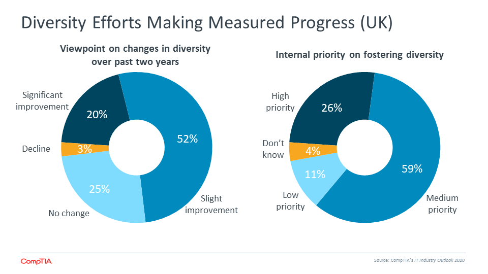 Diversity Efforts Making Measured Progress (UK)