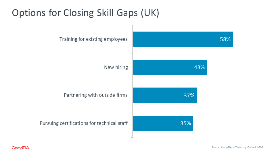 Options for Closing Skill Gaps (UK)