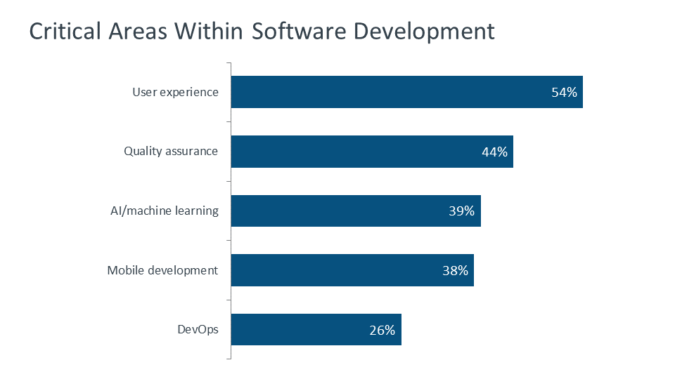 Critical Areas Within Software Development