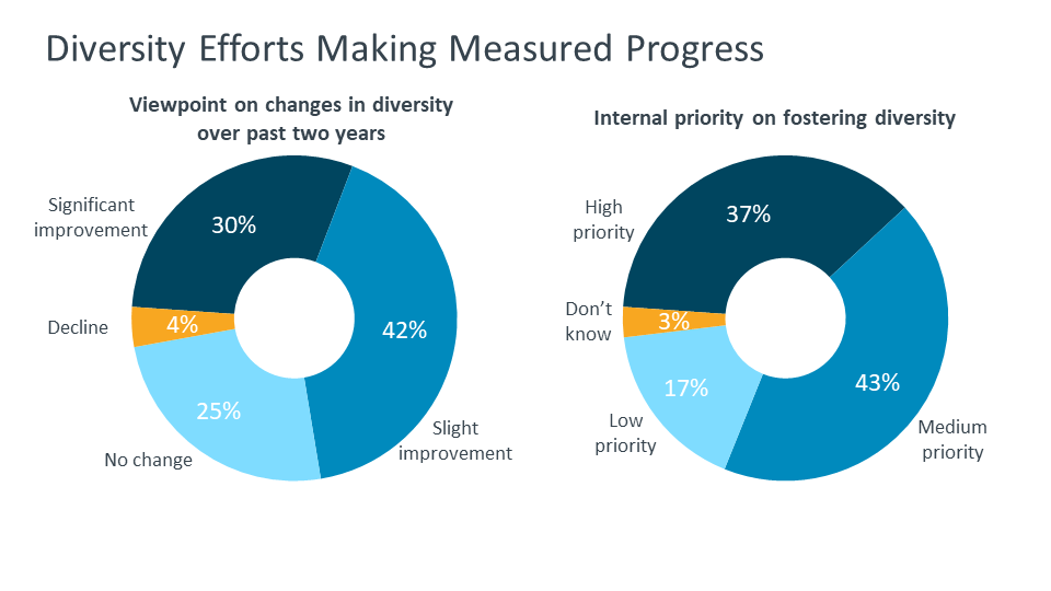 Diversity Efforts Making Measured Progress