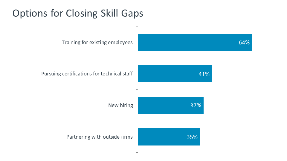 Options for Closing Skill Gaps