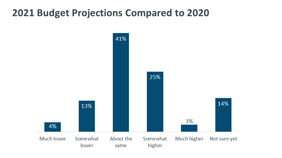 2021 Budget Projections Compared to 2020