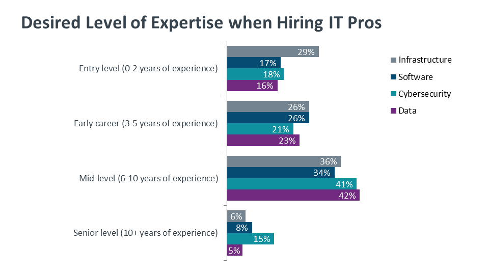 Desired Level of Expertise when Hiring IT Pros