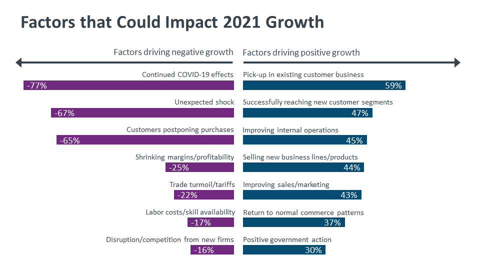 Factors that Could Impact 2021 Growth