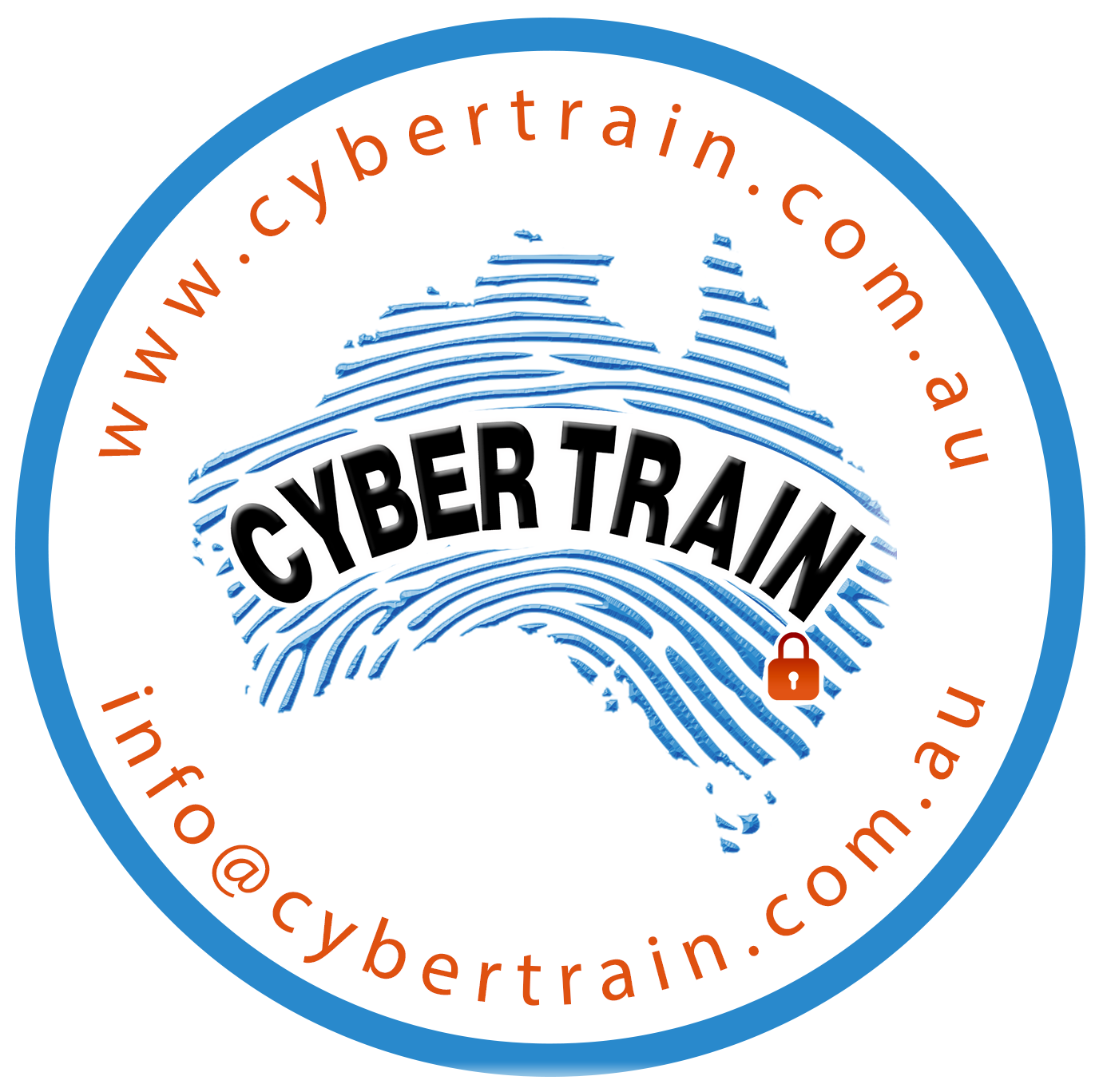 CyberTrain circular logo