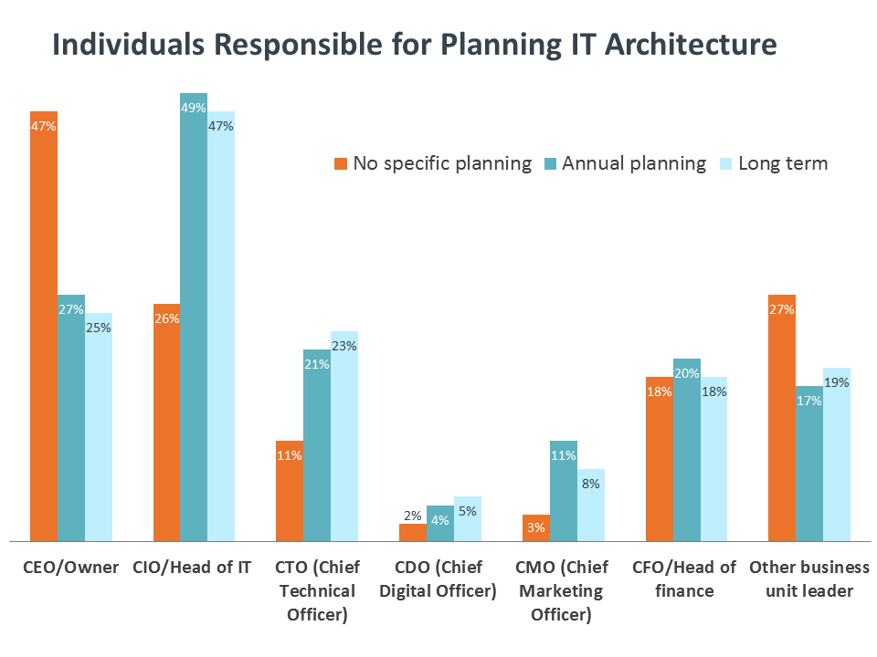 Individuals Responsible for Planning IT Architecture