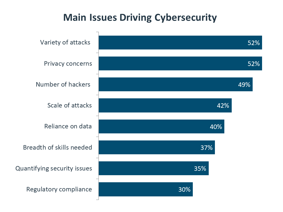 Main Issues Driving Cybersecurity