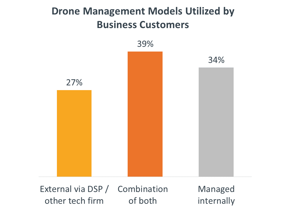 Drone Management Models Utilized by Business Customers