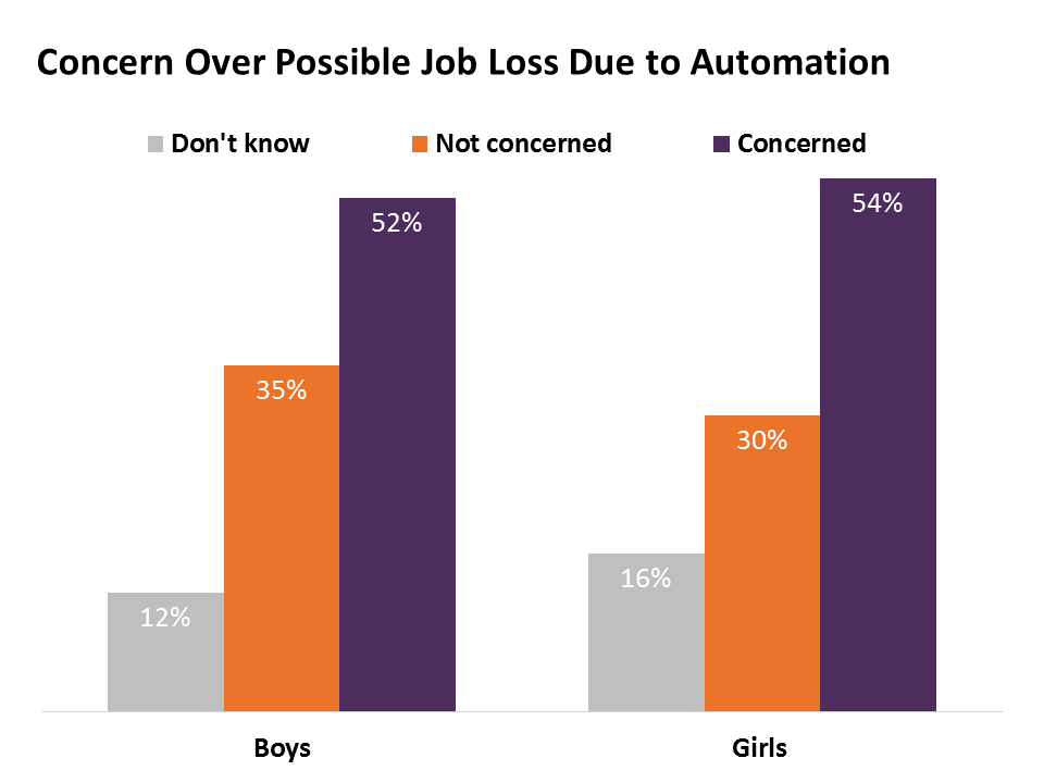 Concern Over Possible Job Loss Due to Automation